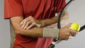 Tennis elbow does not just occur in tennis players.
